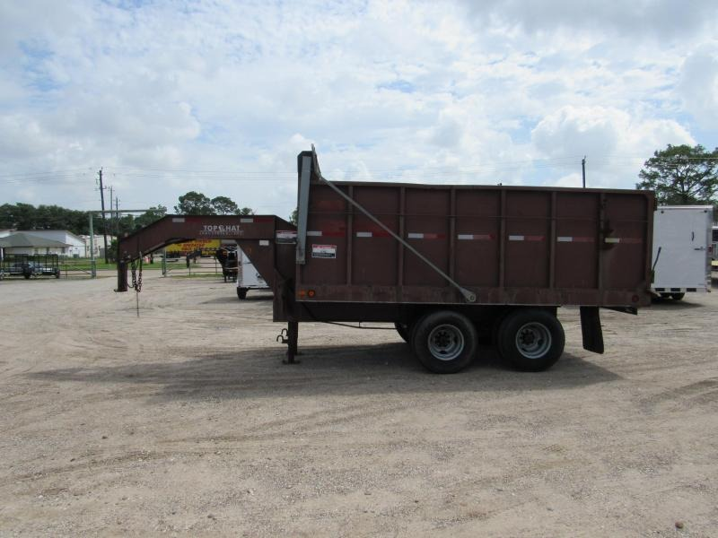 2004 Top Hat Trailers 14 x 102 GN Dump Trailer