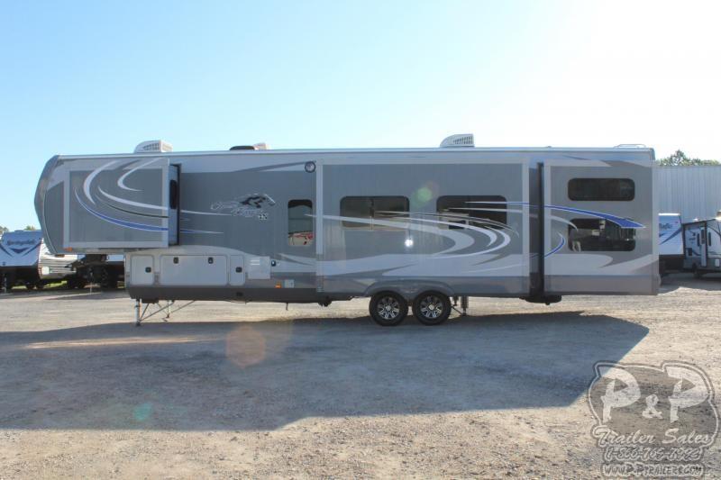 2017 Heartland Recreational Vehicles Open Range 3X 427BHS 41.83' Fifth Wheel Campers LQ