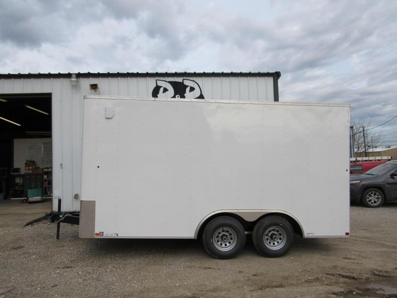 2019 Carry-On Trailer Cargo Trailers 8.5' x 16' CGRBN
