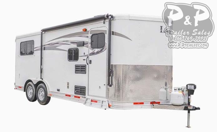 2019 Lakota Charger C8XHSLBP11SE Bumper Pull 3 Horse 11' LQ Horse Trailer