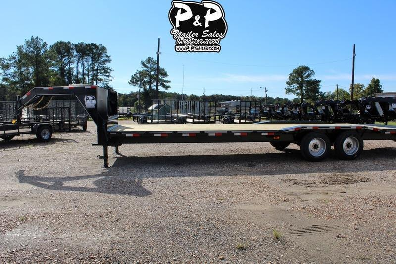 2019 P and P PPGNEQ28X102HDMMRDOF 28' Flatbed Trailer