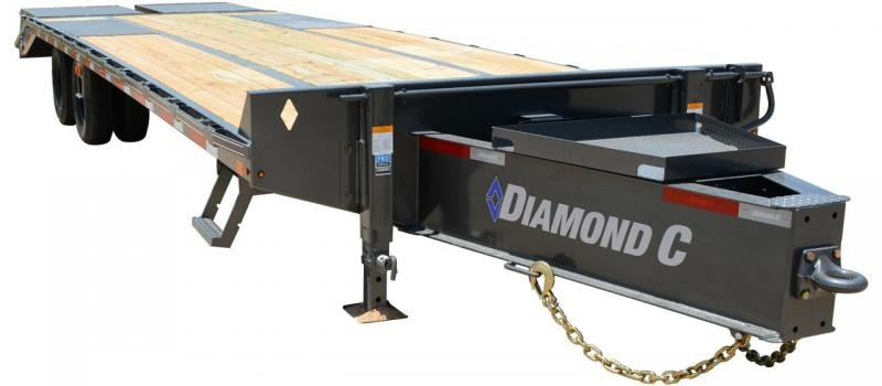 2019 Diamond C Trailers PX212 Pintle Hitch Equipment Trailer