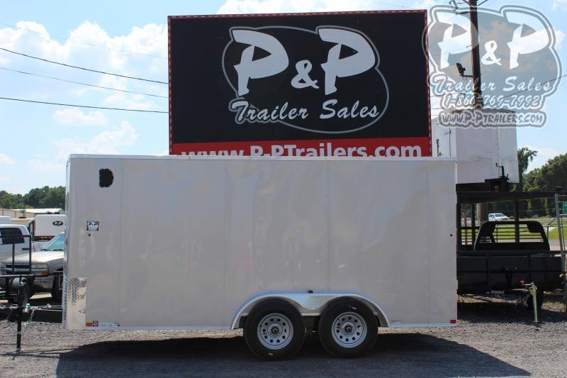2020 Carry-On 7X16' CGRBN 16 ft Enclosed Cargo Trailer