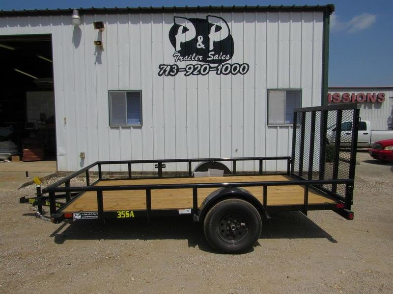 "2019 Big Tex Trailers 77"" X 12' SA"