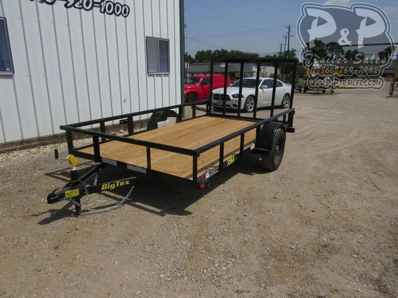 2020 Big Tex Trailers 77X12 12 ft Utility Trailer LQ
