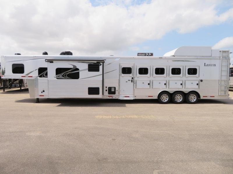 2020 Lakota BH8516TSR 5 Horse Trailer 16 LQ With Slides Slant in Ashburn, VA
