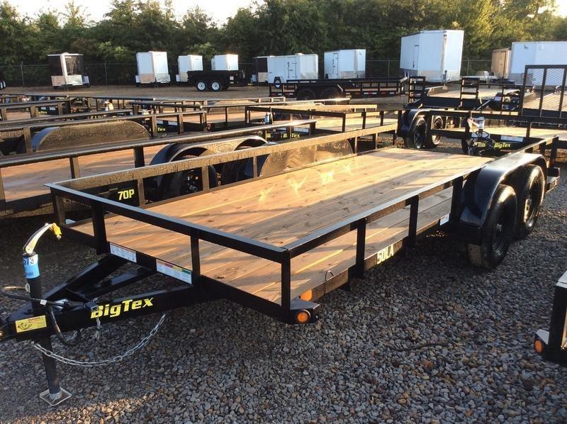 2018 Big Tex Trailers 50LA-16BK4AR