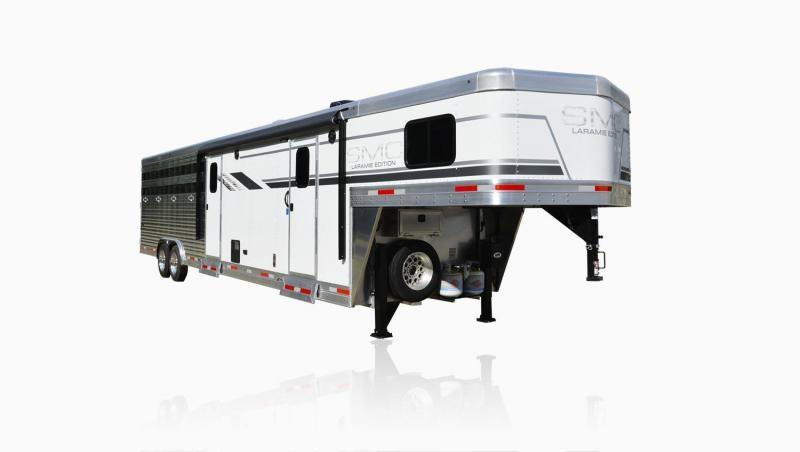 2019 SMC Horse Trailers SL8X9SR LARAMIE 9ft LQ Livestock Trailer