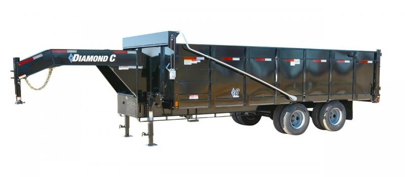 2019 Diamond C Trailers WDT Dump Trailer