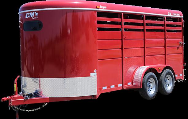 2019 CM Durango 3 Horse Trailer Slant