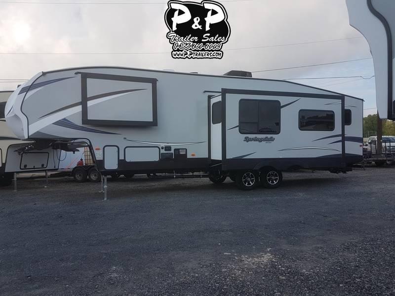 2019 Keystone RV Springdale 300FWBH 34.83' Fifth Wheel Campers LQ in Ashburn, VA