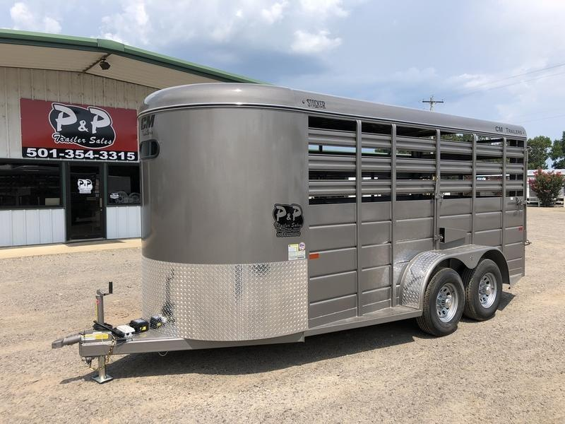 2019 CM Trailers STOCKER 16'X6'X6'6""