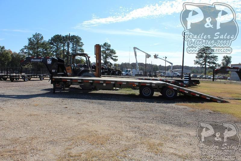 2019 Diamond C Trailers FMAX212 35' x 102 35 ft Flatbed Trailer