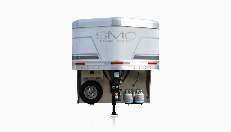 2019 SMC Horse Trailers SL8X9SR LARAMIE 3 Horse 9' LQ Horse Trailer Slant