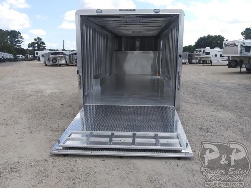 2019 P & P Enclosed Car Haulers 24' Car Hauler