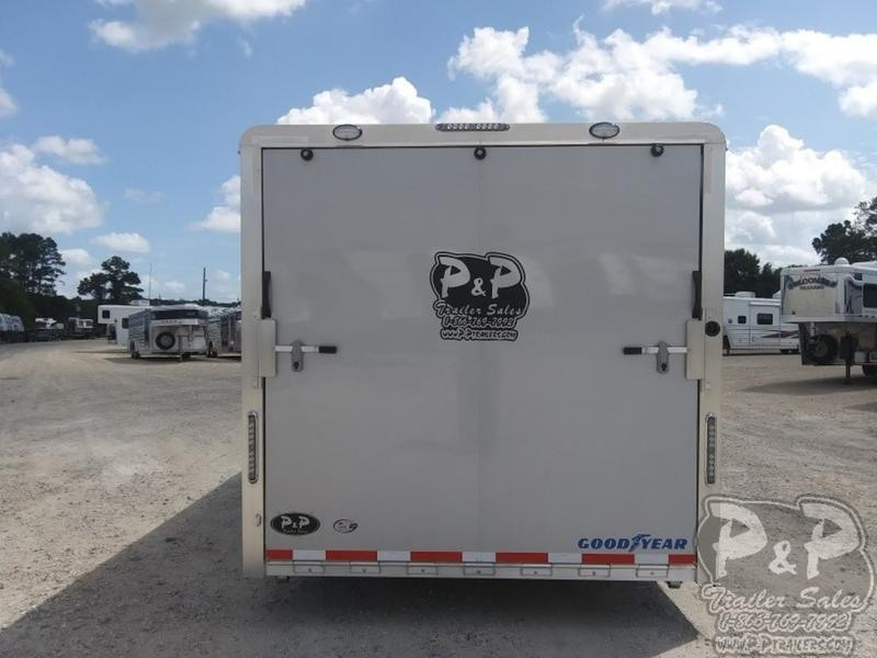 2019 P and P Enclosed Car Haulers 24 Car Hauler 24' Enclosed Cargo Trailer