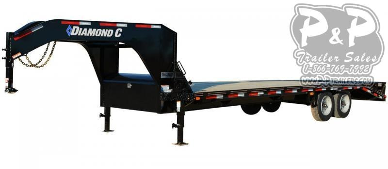 2019 Diamond C Trailers FMAX208 Gooseneck Equipment Trailer