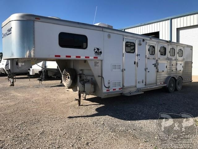 2008 Cimarron Trailers 4 Horse 8 Short wall 4 Horse Trailer 8 LQ