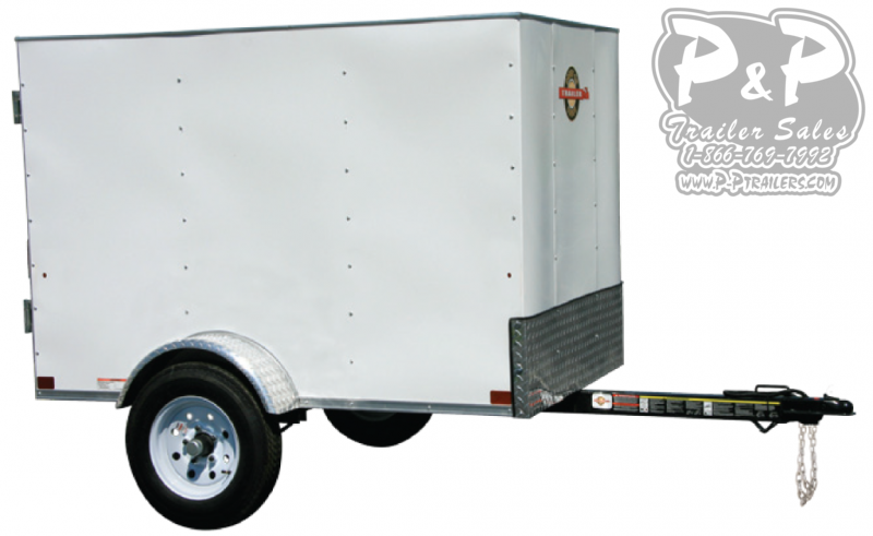 2019 Carry-On 4X6CG Enclosed Cargo Trailer