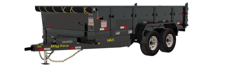 2019 Big Tex Trailers 14LX-12BK7SIRPD