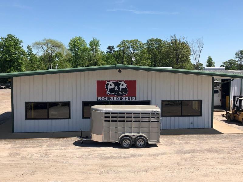 2019 Delta Manufacturing 500 Series 14' Livestock Trailer in Ashburn, VA