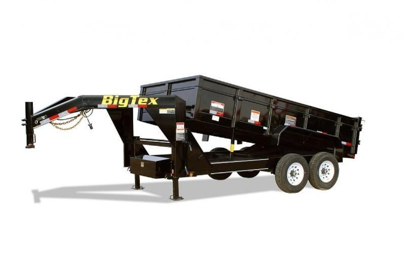 2019 Big Tex Trailers 14GX-16BK-P4 4' sides