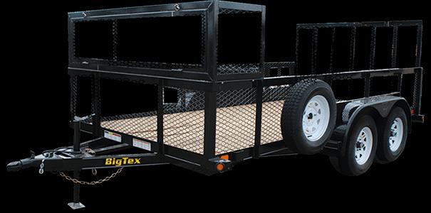 2019 Big Tex Trailers 70LR-16B-P4 16' Utility Trailer
