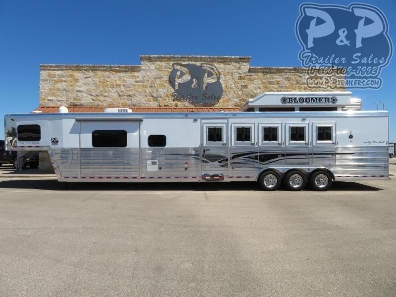 2019 Bloomer 8516PCOL 5 Horse Trailer 16 LQ Slant