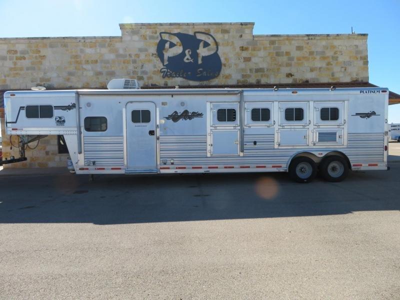 2005 Platinum Coach Trailers 4 Horse 11'6