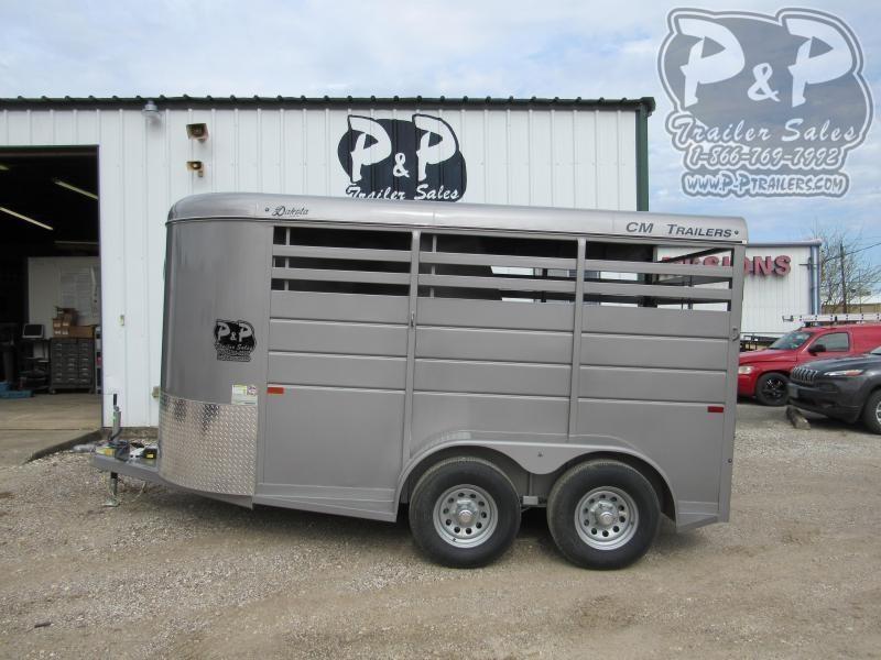 2020 CM Dakota 2 Horse 14x6'x6'6