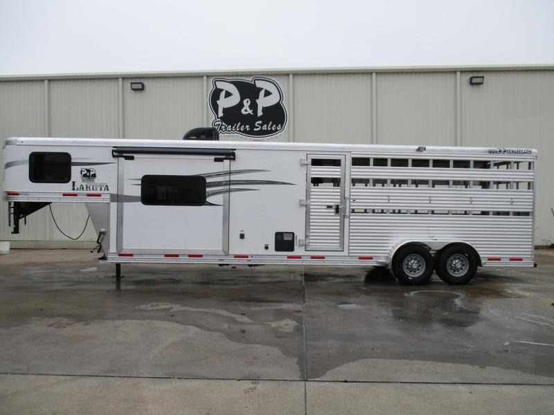 2020 Lakota Charger Edition LE1612 16 Stock 12' Straight Wall with Slide-out 28' Livestock Trailer LQ in Ashburn, VA