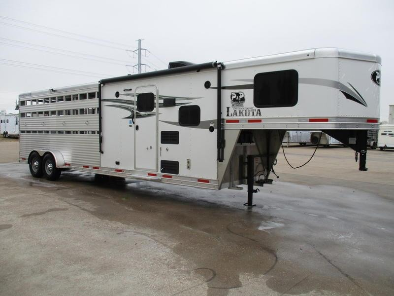 2020 Lakota Charger Edition LE1612 16 Stock 12' Straight Wall with Slide-out 28' Livestock Trailer LQ