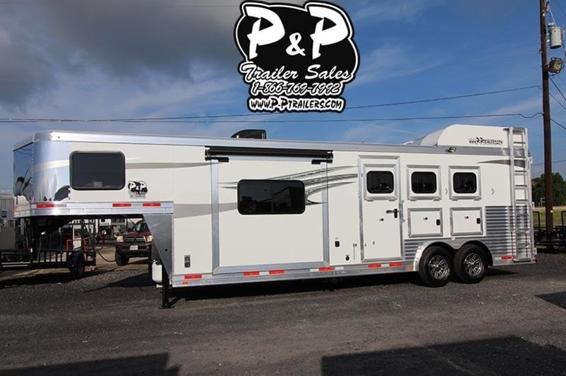 2019 Lakota Trailers C8311 3 Horse 11' Short wall