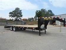 2020 Big Tex Trailers 14GN-20BK5MR 25' Flatbed Trailer