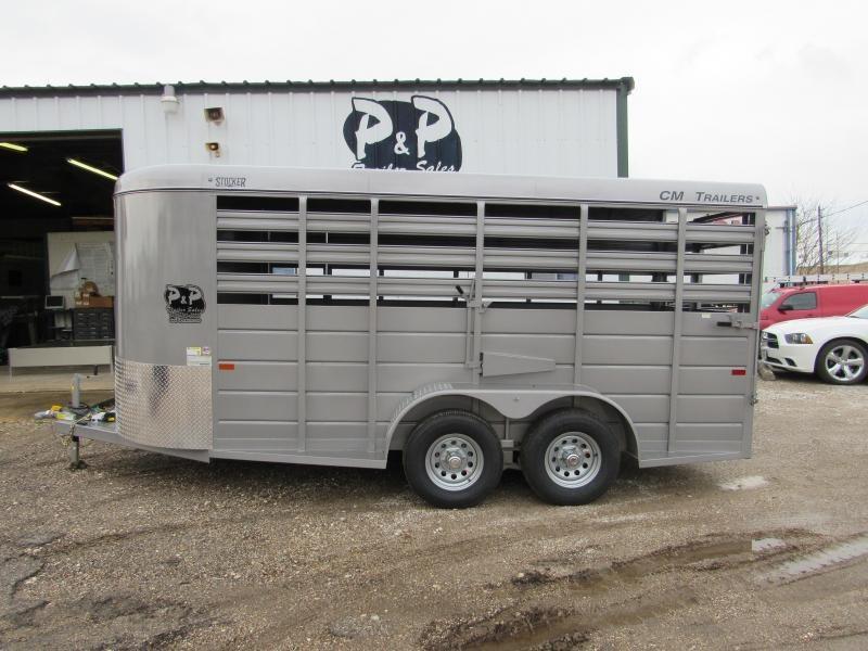 2019 CM 16x6x66  Livestock Trailer