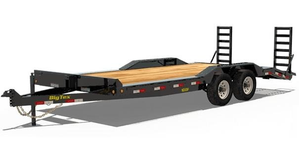2019 Big Tex Trailers 10DF-20 Car / Racing Trailer