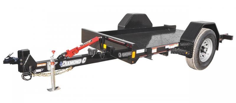 2019 Diamond C Trailers DSA Single Axle Equipment Trailer