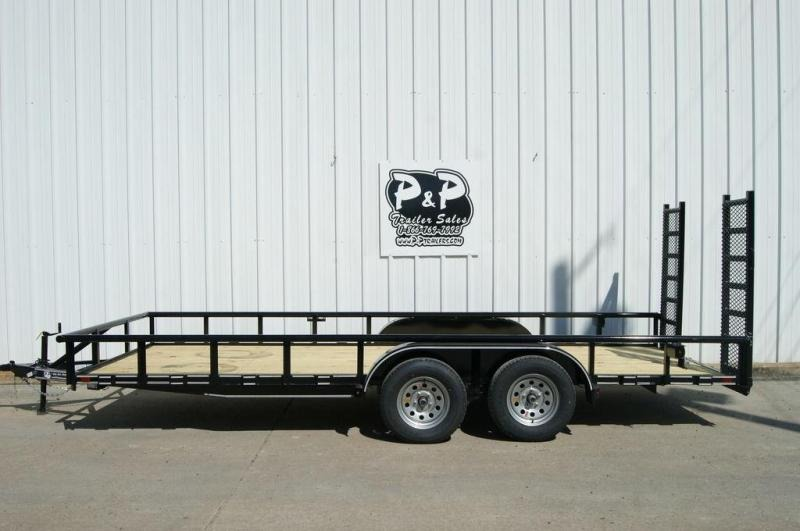 2019 P and P 83 X 18 Lowboy 18' Utility Trailer in Ashburn, VA