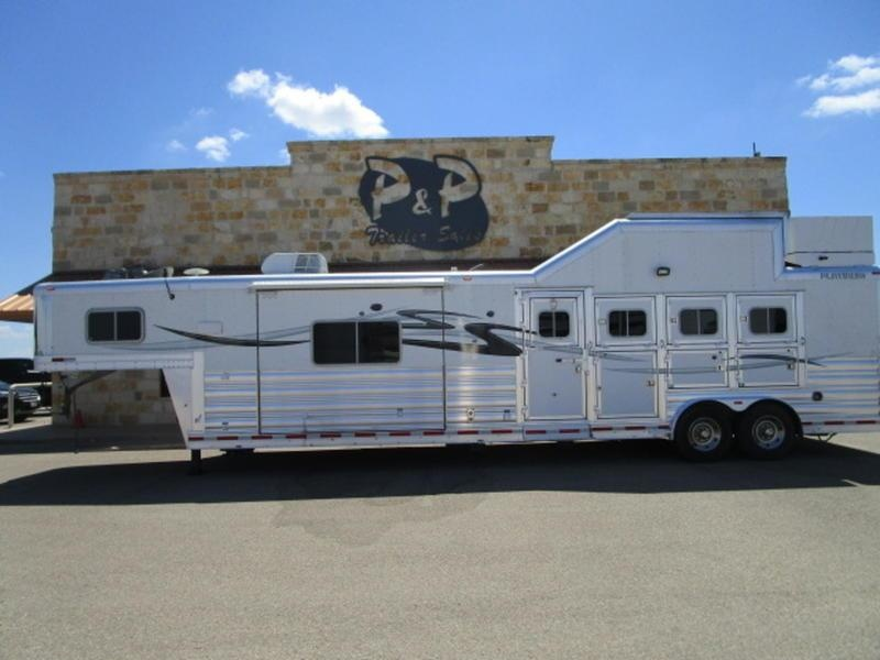 2014 Platinum Coach Trailers 4 Horse 15' Short Wall with Slide Out in Ashburn, VA