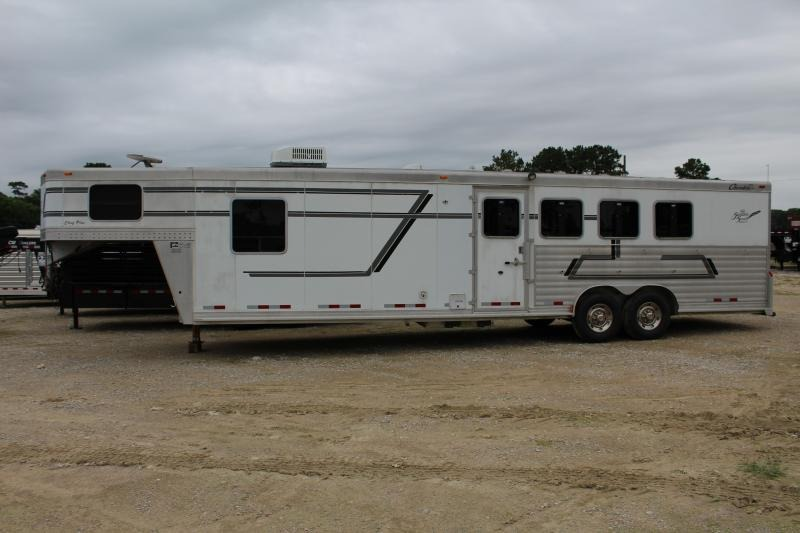 "2005 Cherokee Chief Plus 4H13.5SW 4 Horse Slant Load Trailer 13' 6"" LQ"