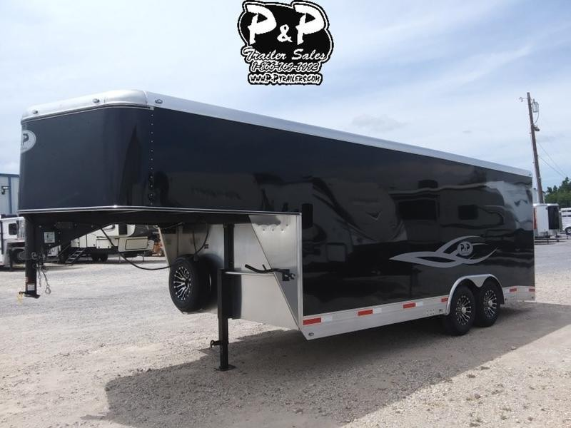2019 P & P Enclosed Car Haulers 20' Car Hauler