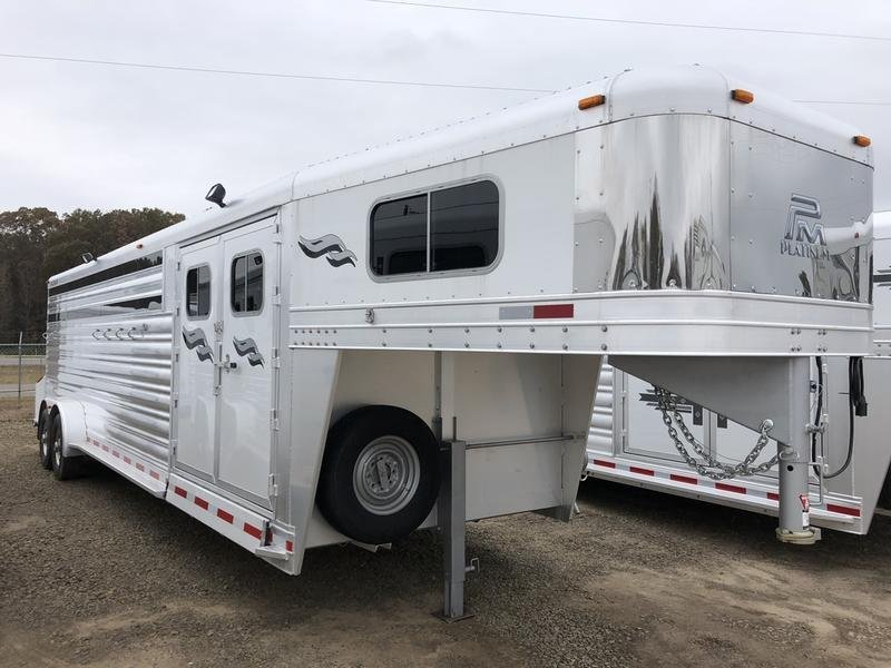 2019 Platinum Coach Trailers 6H GN Smart Tack