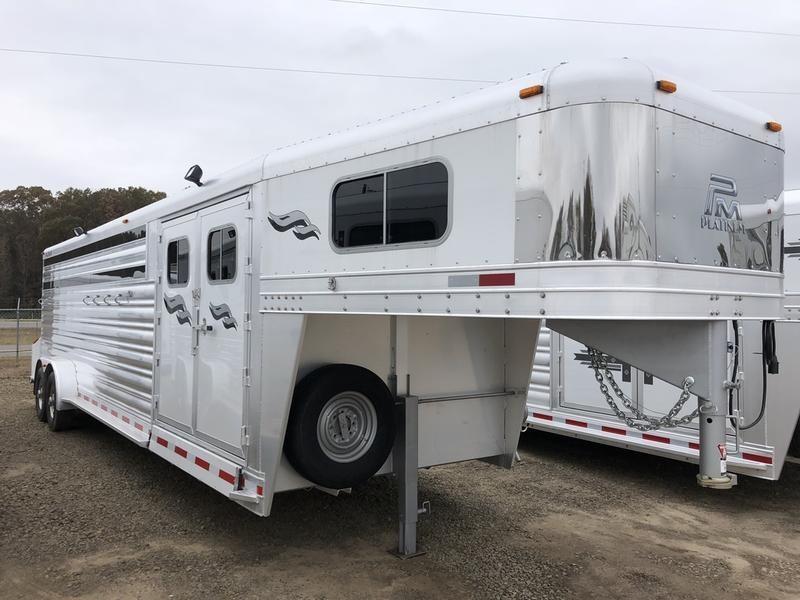 2019 Platinum Coach Trailers 6H GN Smart Tack  in Ashburn, VA