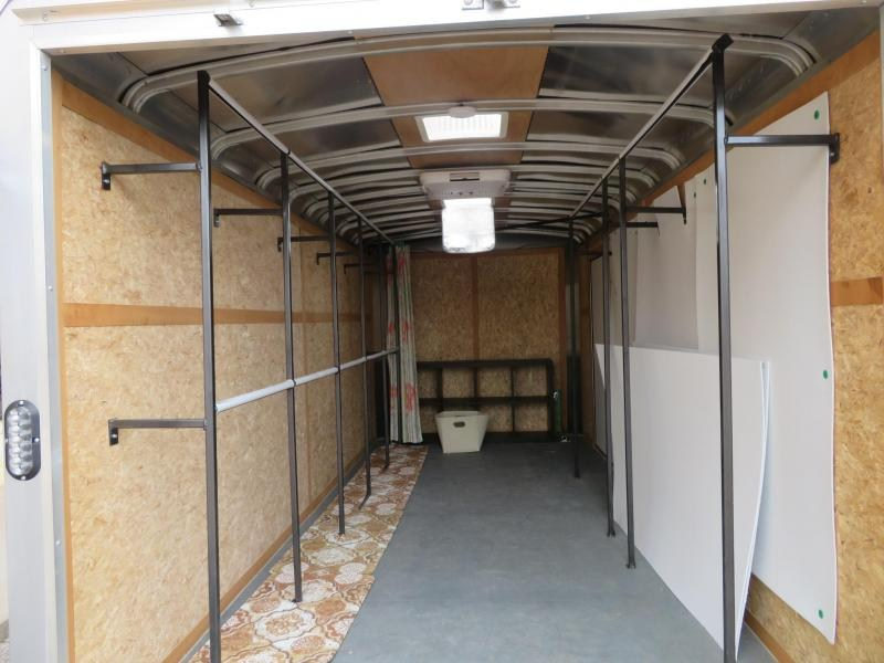 2017 Wells Cargo RF7X162-DBL-DRS 16' Enclosed Cargo Trailer