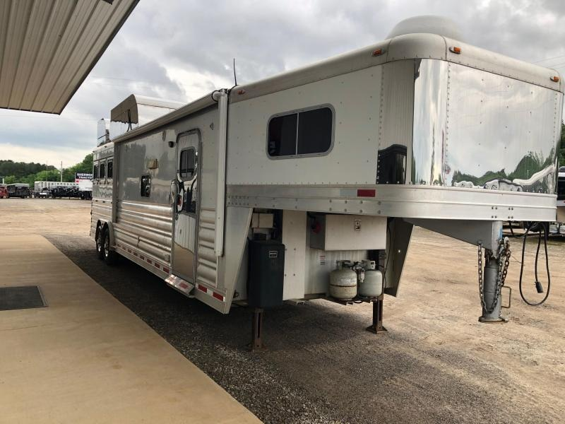 2007 Platinum Coach 3H 16 LQ 3 Horse Trailer LQ With Slides Slant