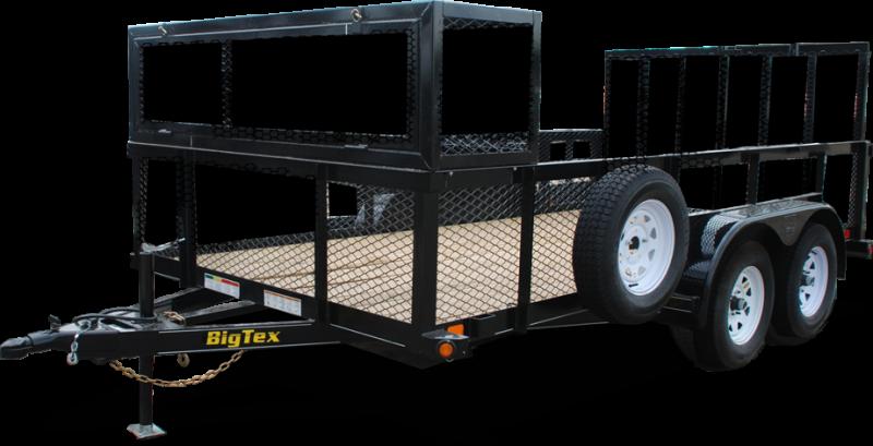2019 Big Tex Trailers 70LR-16 Utility Trailer