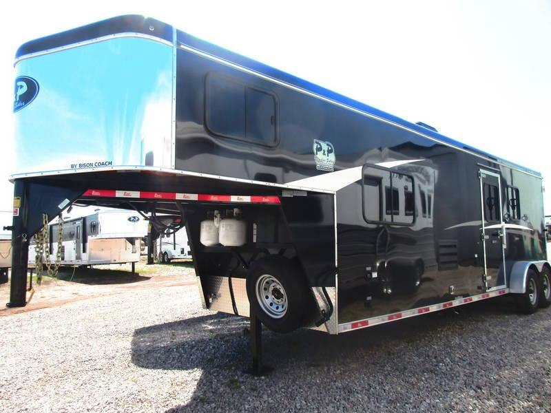 2019 Bison 7211TH Trail Hand 2 Horse 11' Shortwall