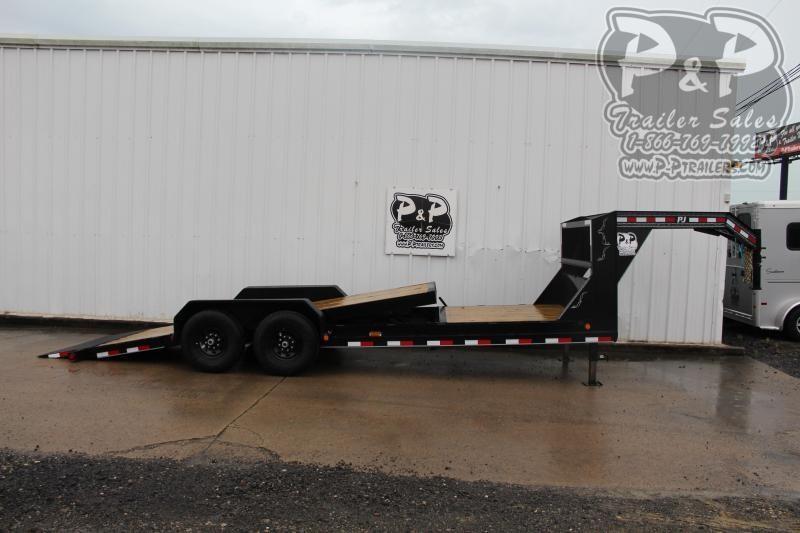 2020 PJ Trailers PJEQ22x83GNHDTILT 22 ft Equipment Trailer
