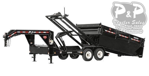 2019 PJ Trailers Rollster Roll Off Dump (DR) Dump Trailer