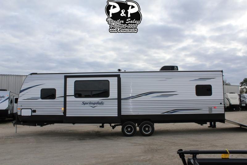 """2020 Keystone Springdale 32TH 36' 4""""' Toy Hauler RV LQ in Tortilla Flat, AZ"""